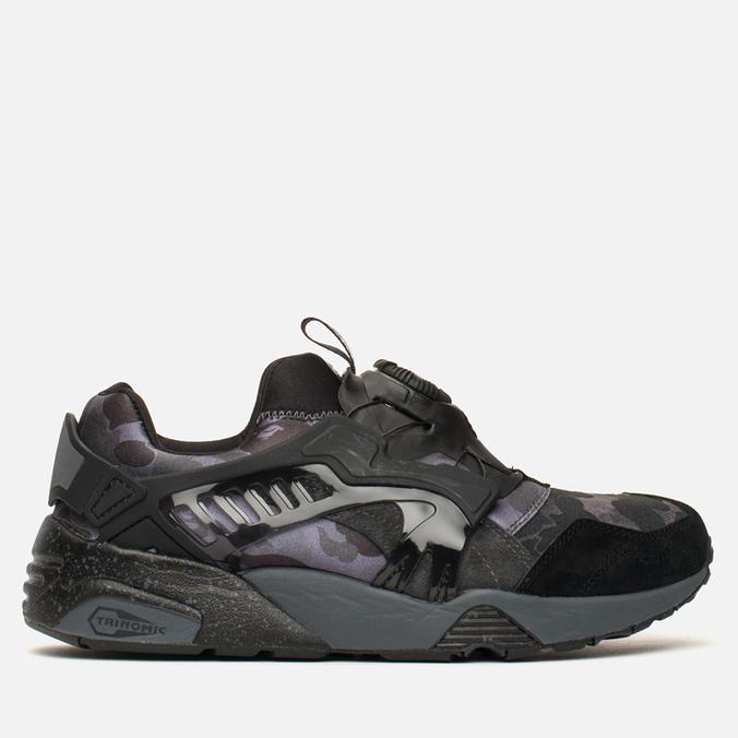 Puma x Bape Disc Blaze Camo Sneakers Black