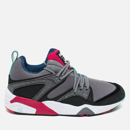Puma x Crossover Blaze of Glory Velvet Twin Pack Sneakers Steel Grey/Black/Rose Red
