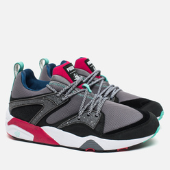 Кроссовки Puma x Crossover Blaze of Glory Velvet Twin Pack Steel Grey/Black/Rose Red