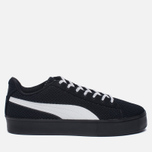 Кроссовки Puma x Daily Paper Court Platform K Black/White фото- 0