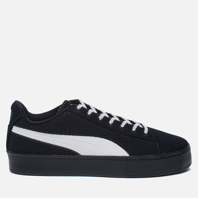 Кроссовки Puma x Daily Paper Court Platform K Black/White