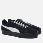 Кроссовки Puma x Daily Paper Court Platform K Black/White фото- 1