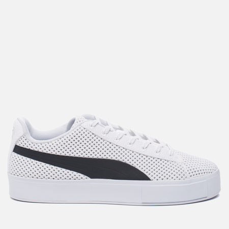Кроссовки Puma x Daily Paper Court Platform K White/Black