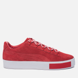 Кроссовки Puma x Daily Paper Court Platform S High Risk Red фото- 0