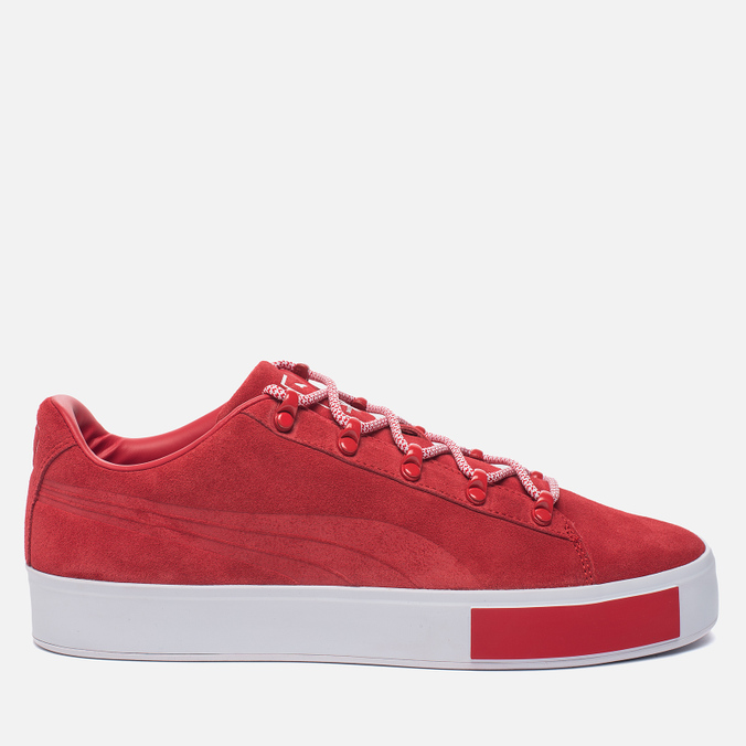 Кроссовки Puma x Daily Paper Court Platform S High Risk Red