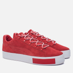 Кроссовки Puma x Daily Paper Court Platform S High Risk Red фото- 1
