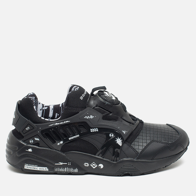 Кроссовки Puma x GraphersRock Disc Blaze Black