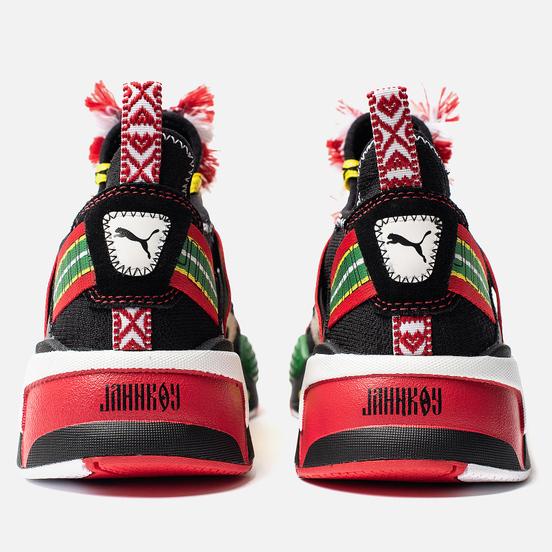 Кроссовки Puma x JAHNKOY RS-X Knit Black
