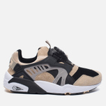 Мужские кроссовки Puma x Kicks Lab. Disc Blaze Desert Trooper Black/Cream фото- 0