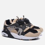 Мужские кроссовки Puma x Kicks Lab. Disc Blaze Desert Trooper Black/Cream фото- 2