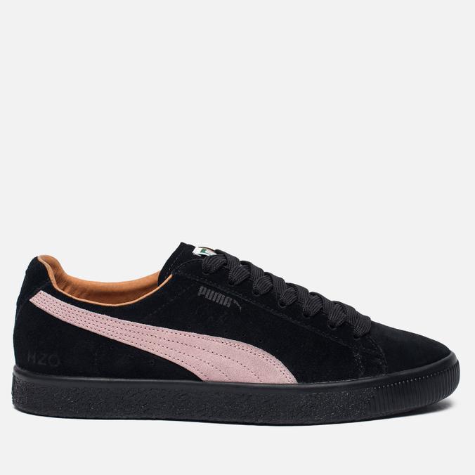 Мужские кроссовки Puma x Patta Clyde Black/Prism Pink