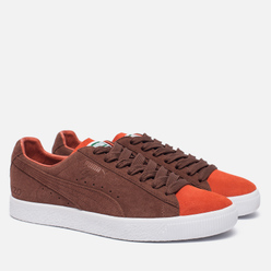 Мужские кроссовки Puma x Patta Clyde Vibrant Orange/Biscuit
