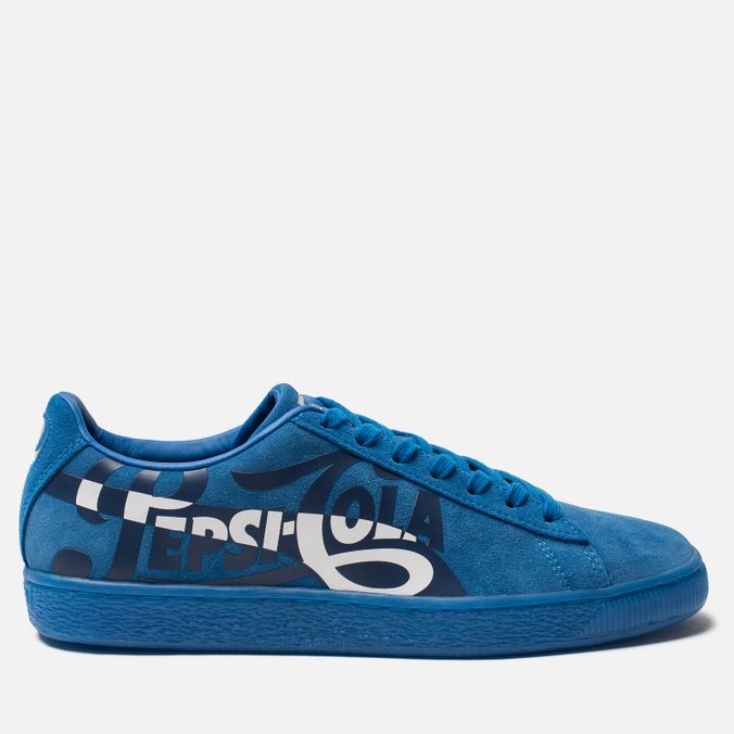 Кроссовки Puma x Pepsi Suede Classic Clean Blue/Silver