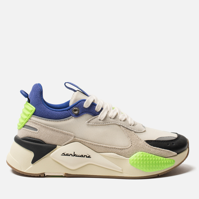Кроссовки Puma x Sankuanz RS-X Cloud Cream/Royal Blue