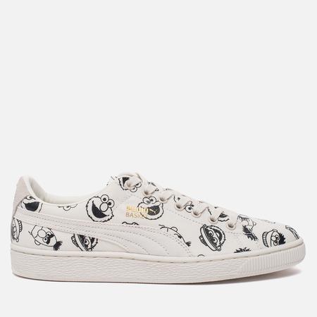 Кроссовки Puma x Sesame Street Basket Whisper White