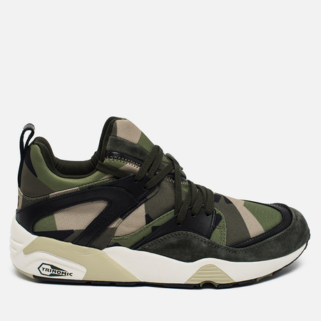 Puma x Sneakersnstuff Blaze Of Glory Swedish Camo Pack Sneakers Rosin/Whisper White