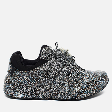 Кроссовки Puma x Trapstar Disc Blaze White Noise Black/White