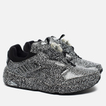 Кроссовки Puma x Trapstar Disc Blaze White Noise Black/White фото- 1