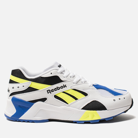 Кроссовки Reebok Aztrek White/Black/Colbalt/Yellow