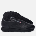 Кроссовки Reebok Classic Leather Black фото- 2