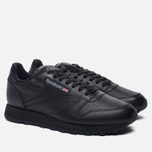 Кроссовки Reebok Classic Leather Black фото- 1