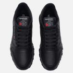 Кроссовки Reebok Classic Leather Black фото- 5