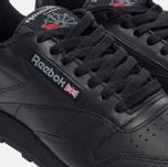 Кроссовки Reebok Classic Leather Black фото- 4