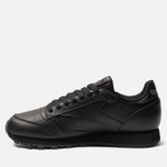 Кроссовки Reebok Classic Leather Black фото- 2