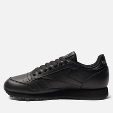 Кроссовки Reebok Classic Leather Black фото- 5