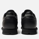 Кроссовки Reebok Classic Leather Black фото- 3
