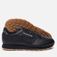 Кроссовки Reebok Classic Leather Black/Gum фото- 4