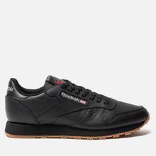 Кроссовки Reebok Classic Leather Black/Gum фото- 3