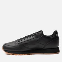 Кроссовки Reebok Classic Leather Black/Gum фото- 5