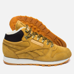 Зимние кроссовки Reebok Classic Leather High Golden Wheat/Dark Brown/White фото- 1