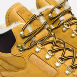 Зимние кроссовки Reebok Classic Leather High Golden Wheat/Dark Brown/White фото- 3