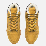 Зимние кроссовки Reebok Classic Leather High Golden Wheat/Dark Brown/White фото- 4