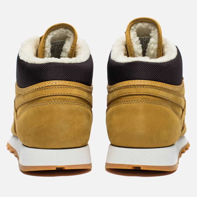 7933c76ac8f5 Зимние кроссовки Reebok Classic Leather High Golden Wheat Dark Brown White