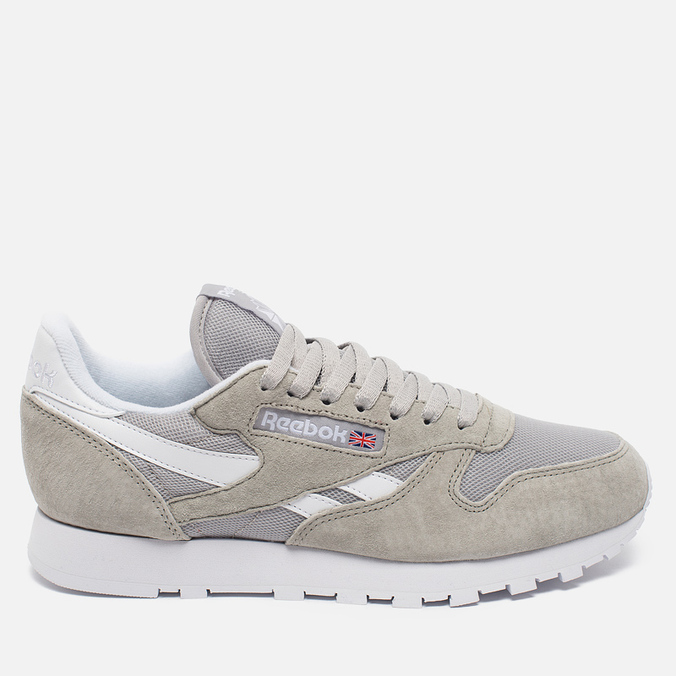 Кроссовки Reebok Classic Leather IS Steel/White