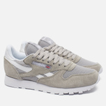 Кроссовки Reebok Classic Leather IS Steel/White фото- 1
