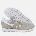 Кроссовки Reebok Classic Leather IS Steel/White фото- 2