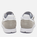 Кроссовки Reebok Classic Leather IS Steel/White фото- 4