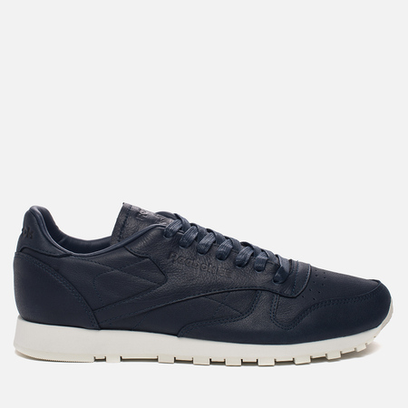 Кроссовки Reebok Classic Leather Lux PW SU Collegiate Navy/Chalk