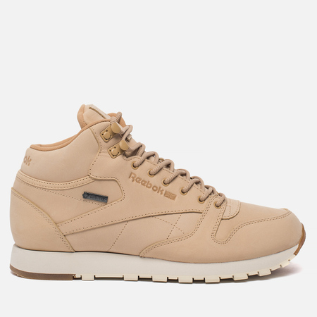 Кроссовки Reebok Classic Leather Mid Gore-Tex Thin Beige/Paper White/Gum