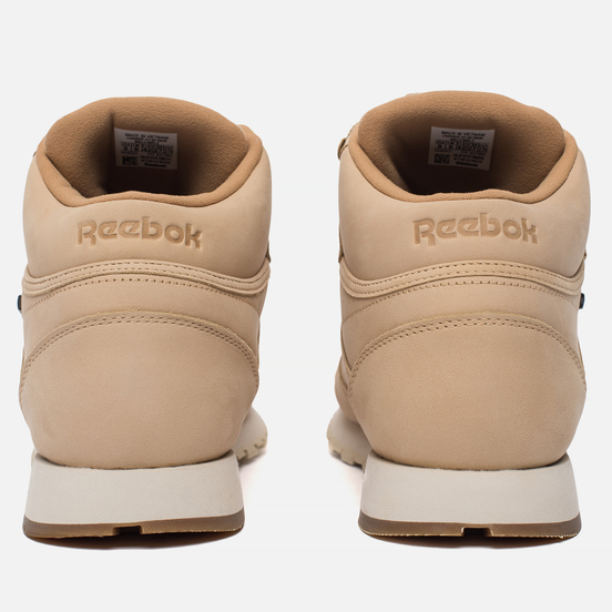 Кроссовки Reebok Classic Leather Mid Gore-Tex Thin Beige/Paper White/Gum