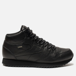 Кроссовки Reebok Classic Leather Mid Ripple Black фото- 0