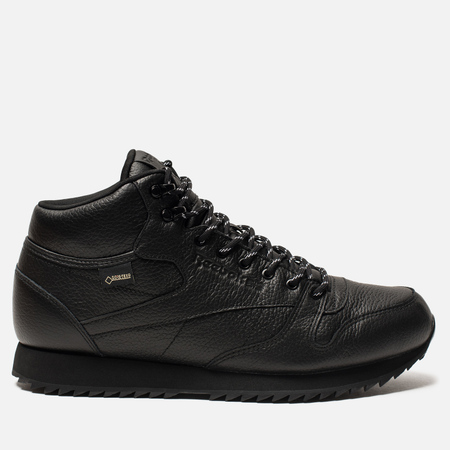 Кроссовки Reebok Classic Leather Mid Ripple Black