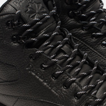 Кроссовки Reebok Classic Leather Mid Ripple Black фото- 6