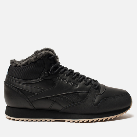 Кроссовки Reebok Classic Leather Mid Ripple Black/Gravel/Gum