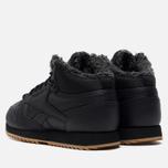 Кроссовки Reebok Classic Leather Mid Ripple Black/Gravel/Gum фото- 2