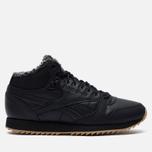 Кроссовки Reebok Classic Leather Mid Ripple Black/Gravel/Gum фото- 3